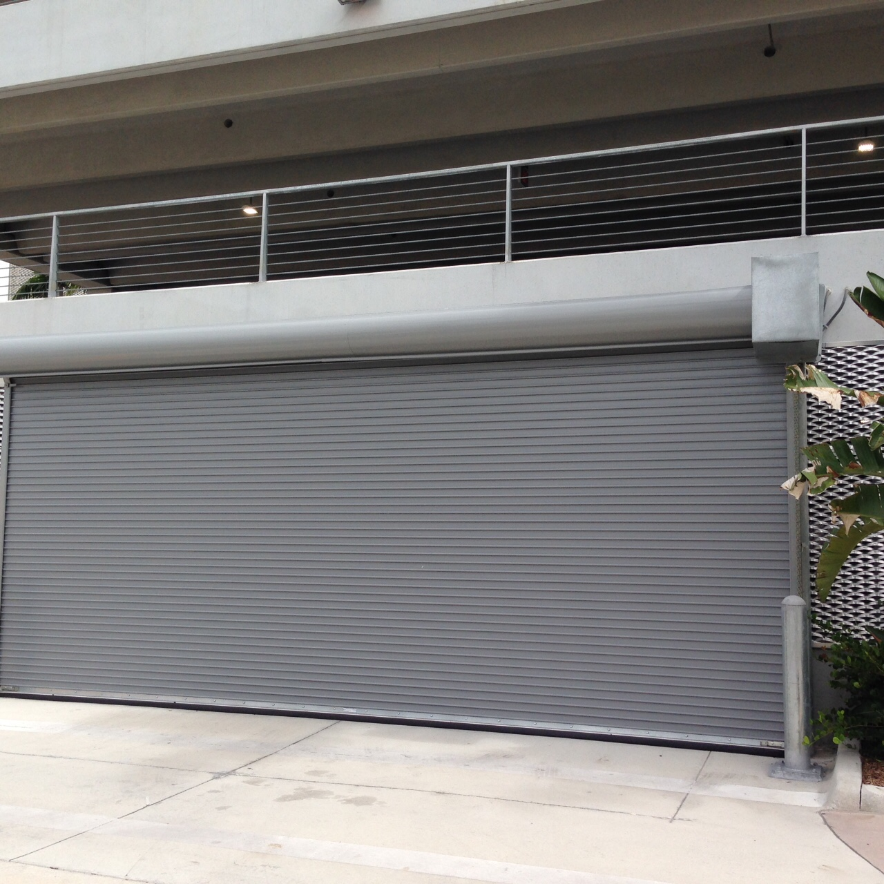 Wind Rated Rolling Door