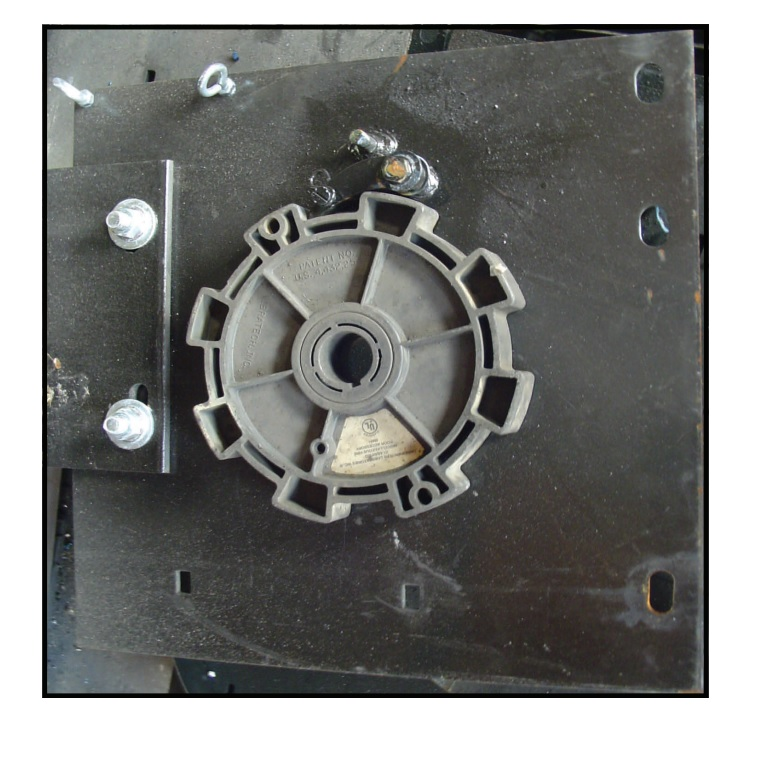 Governor Speed wheel for fire rated roll up door