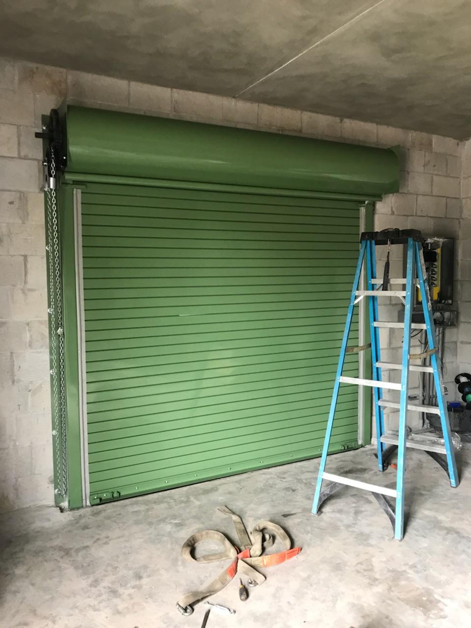 Powder Coated Rolling Steel Door