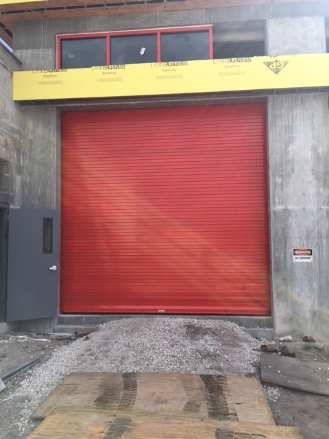 Fire Station Roll up Doors