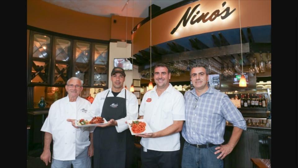 Left to right: Nino Passalacqua, Massimo Mannino, Salvatore Passalacqua, and Pietro Passalacqua