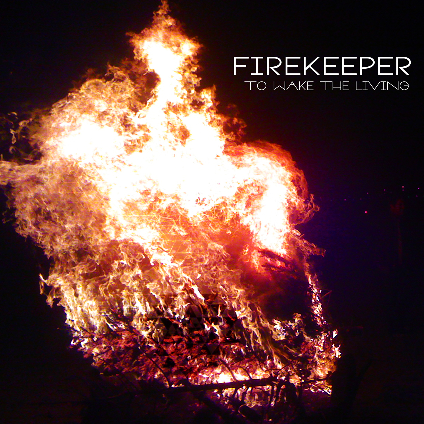 """TO WAKE THE LIVING - FIREKEEPER's debut album, To Wake the Living, was self-produced and recorded at Fonogenic Studio in LA and on """"the Pearl"""", a houseboat on San Francisco's Mission Creek. The album was released on their independent label MAKEARTNOW in October 2013. To Wake the Living's ten tracks have a live analogue intensity while integrating electronic compositions developed through experimenting in their houseboat home studio. The album was made possible with help from Rami Jaffee (Wallflowers, Foo Fighters) and engineer James McLaughlin in Fonogenic's LA-based studio."""