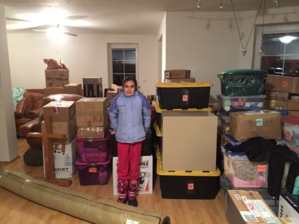 And all our worldly stuff!