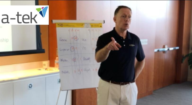 A-TEK Leadership Team   Click Link for a snapshot of Jack's talk