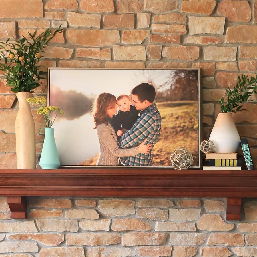 Framed Canvas on Mantle.jpg