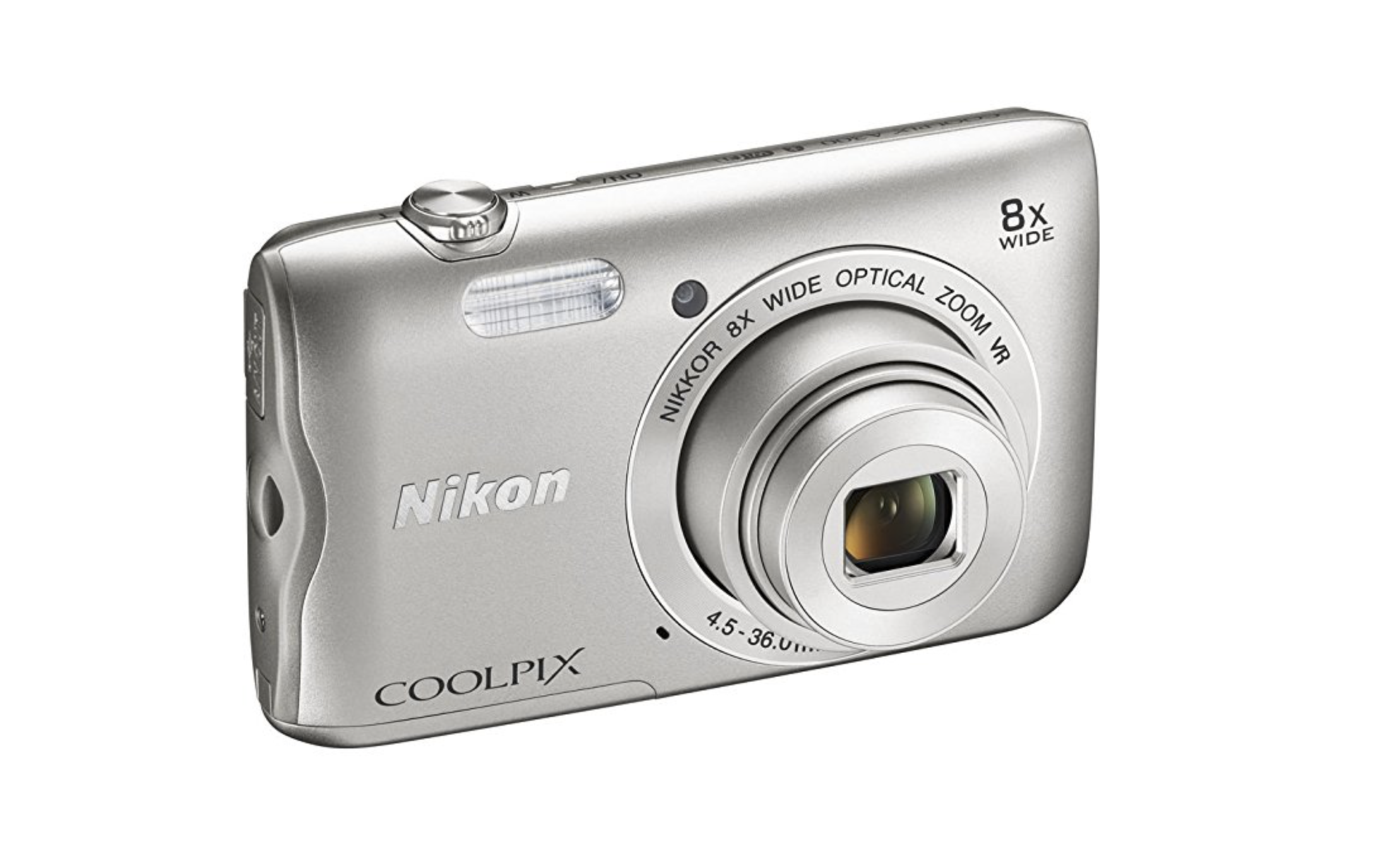 silver point and shoot camera for kids
