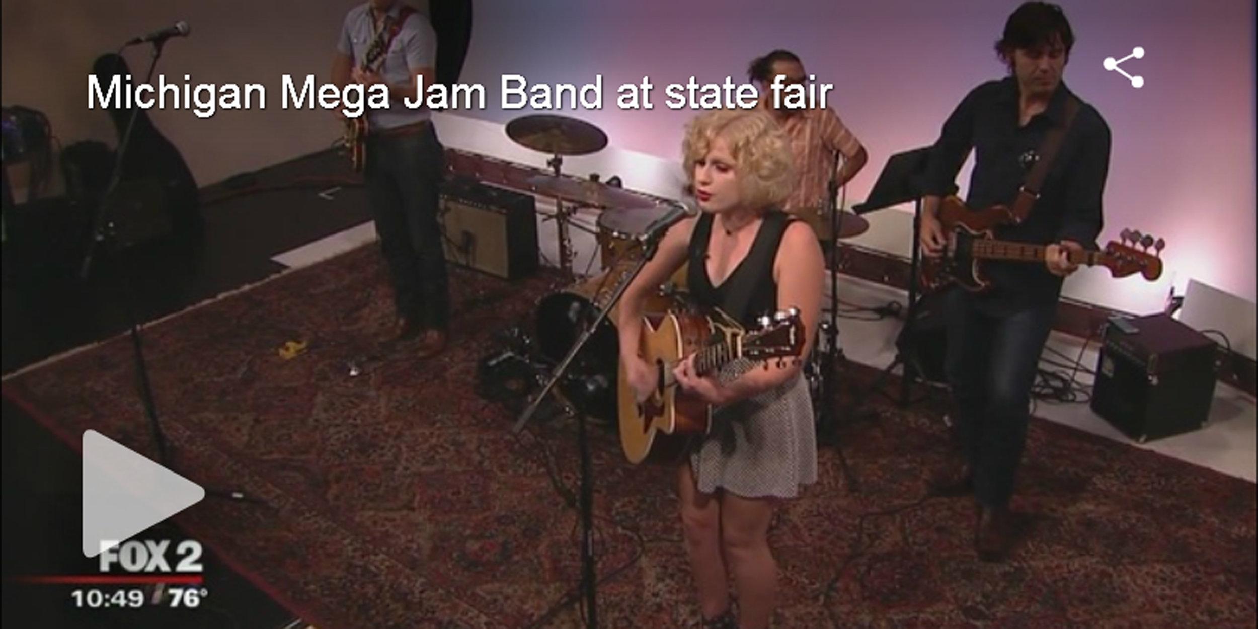 Michigan Mega Jam Band at state fair