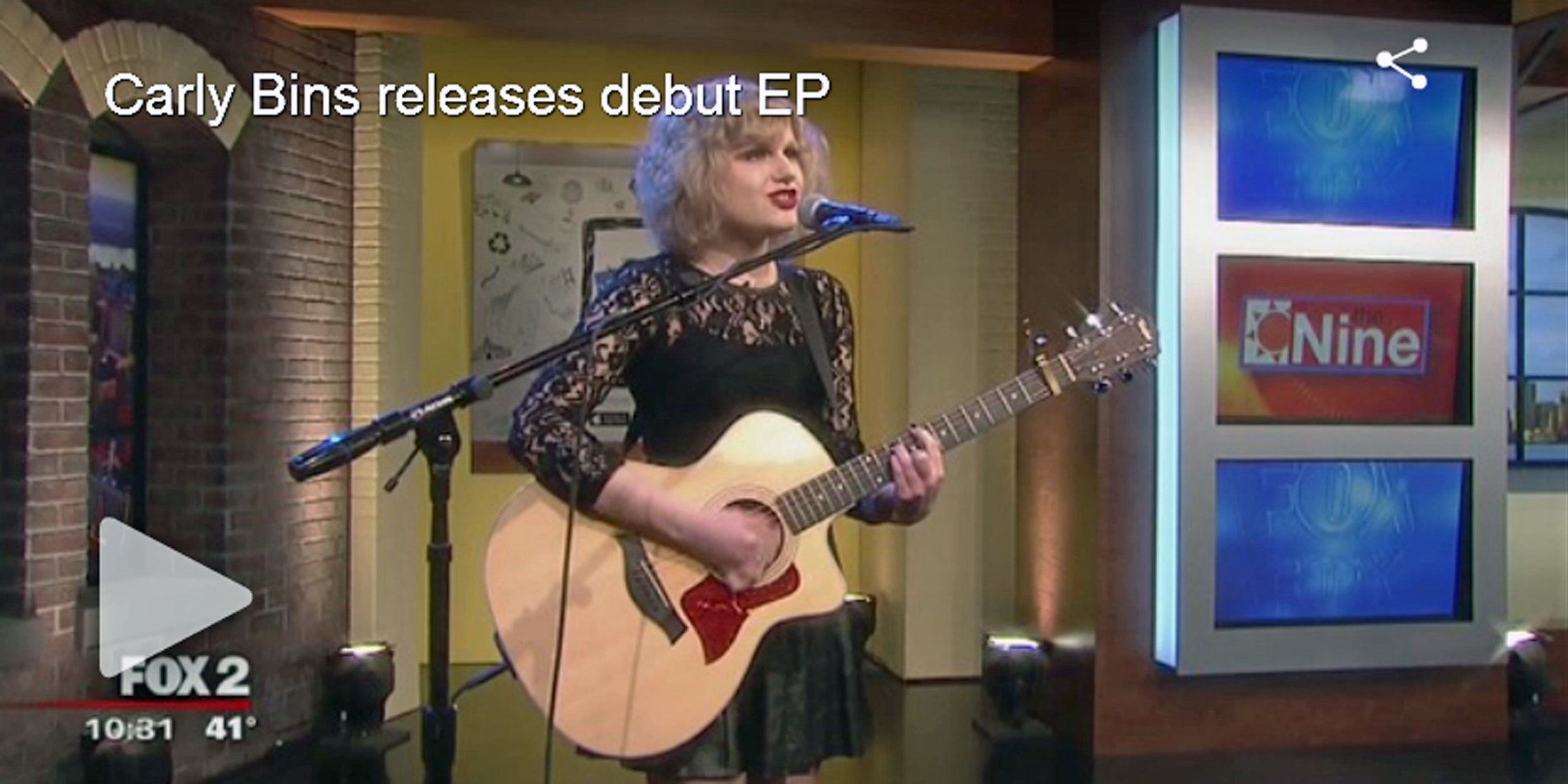 Carly Bins releases debut EP