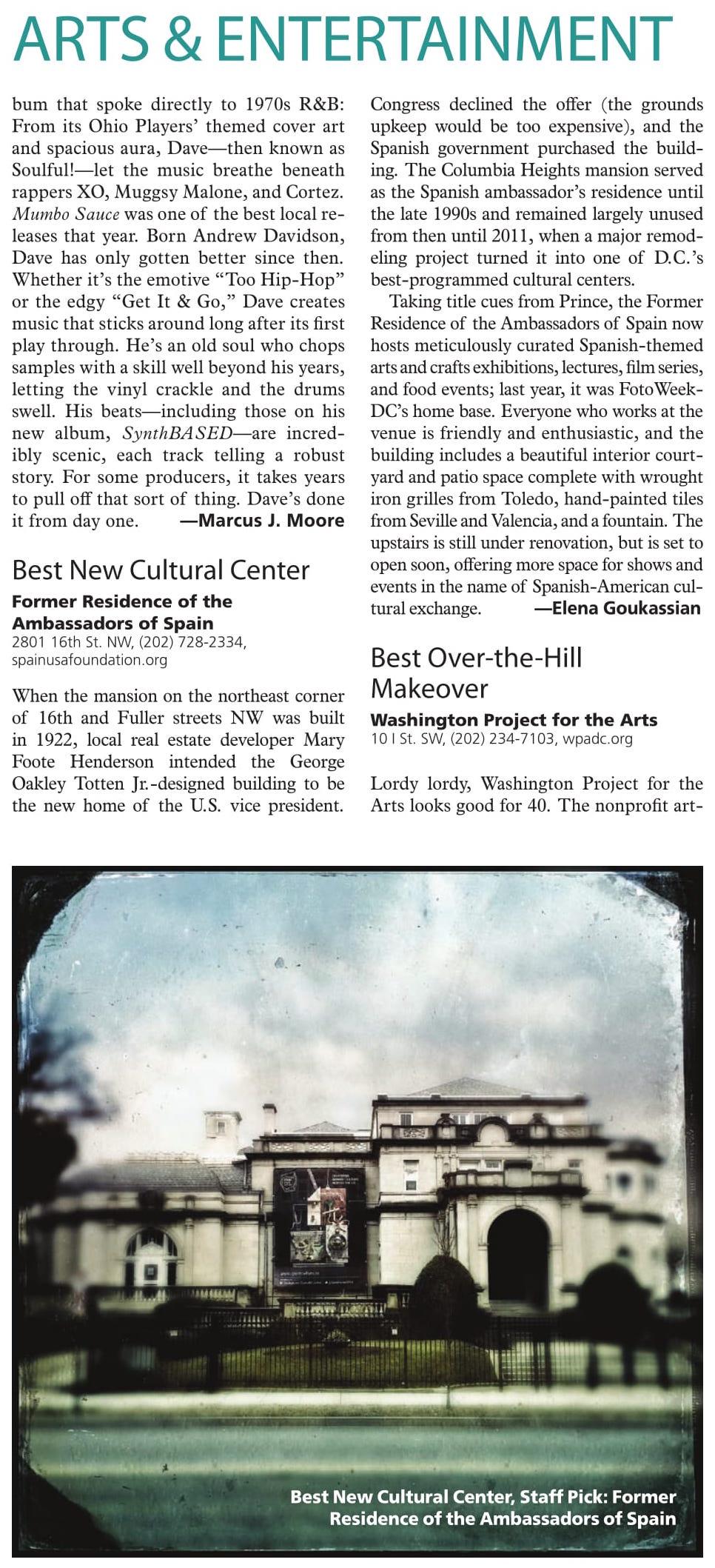 http://legacy.washingtoncitypaper.com/bestofdc/artsandentertainment/2015/best-new-cultural-center