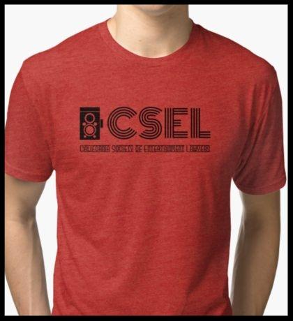 Tri-blend T-Shirt (Black Logo)