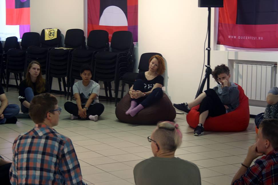 "The participants of the Queerfest ""Empathy"" dance workshop. Sept 2017"
