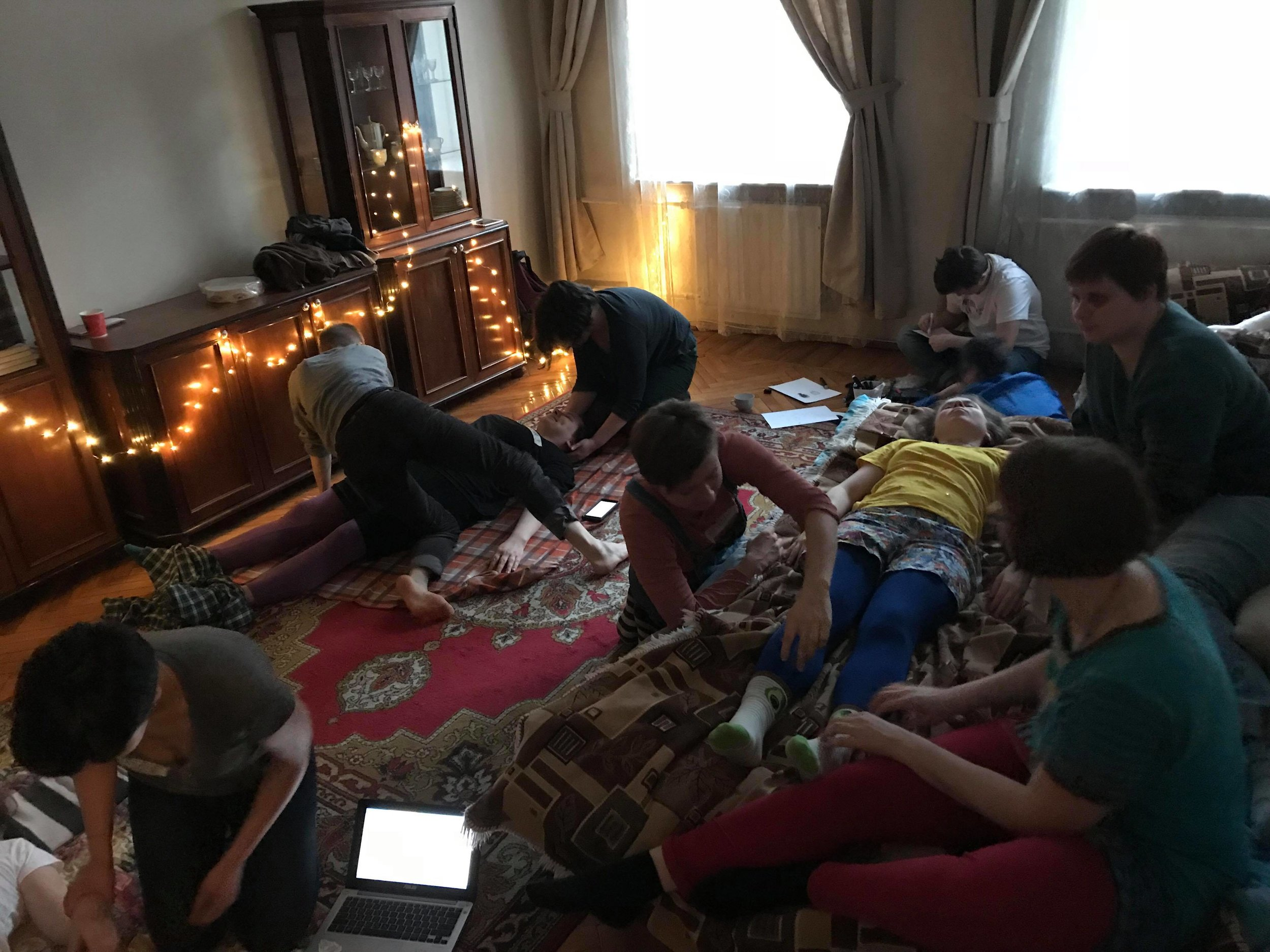 Telaboratoria Cuddle Party, St. Petersburg, April 2018