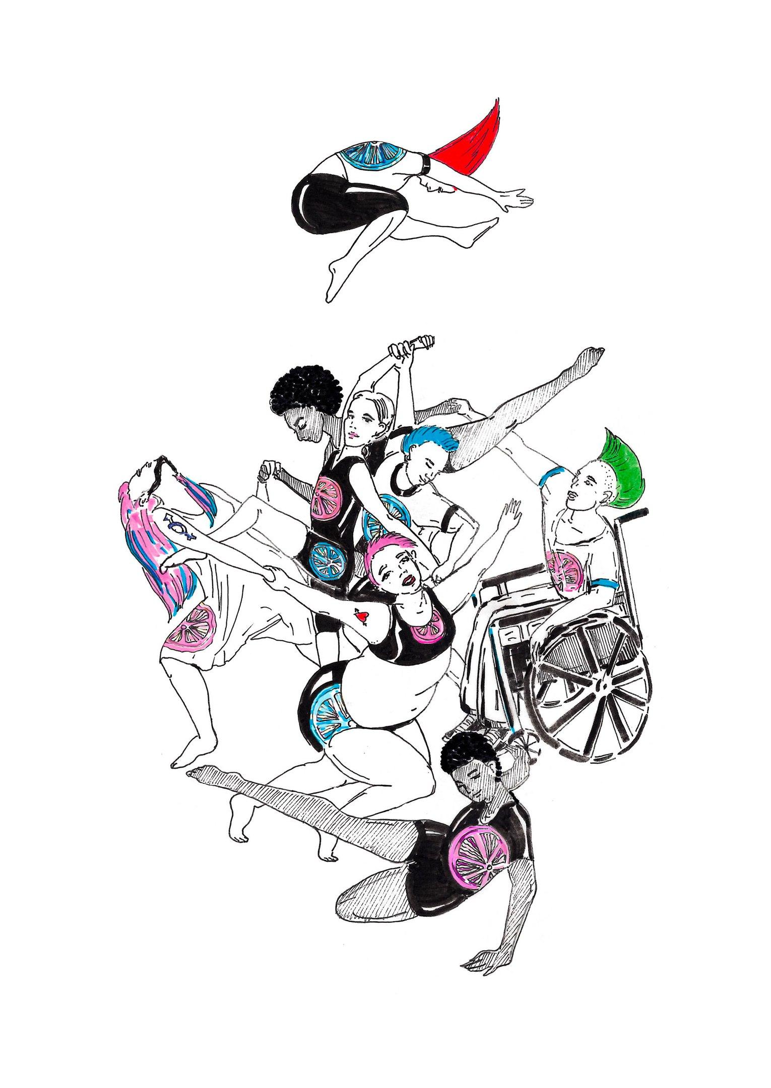 """""""телаборатория"""", рисунок Ким"""