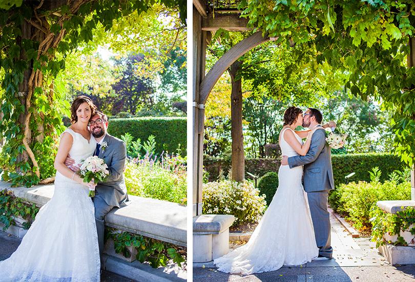 Indianapolis Zoo Wedding Garden arch
