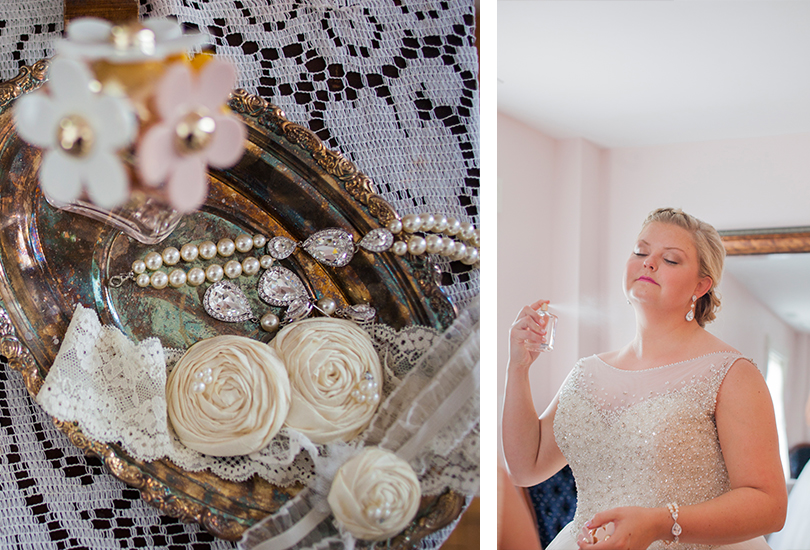 Ambassador House Indianapolis wedding photographer antique tray detail photo bracelet earrings garter perfume bride.jpg