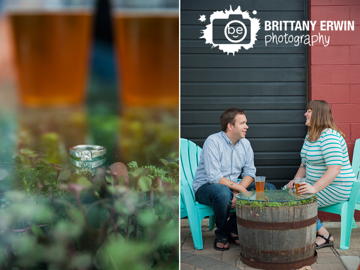 Indianapolis-brewery-engagement-photographer-beer-cups-ring-detail.jpg