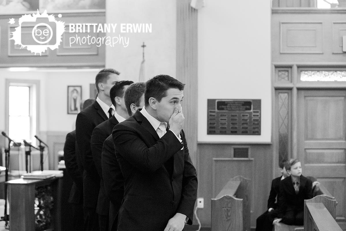 Indianapolis-wedding-photographer-st-roch-catholic-church-groom-reaction-ceremony.jpg