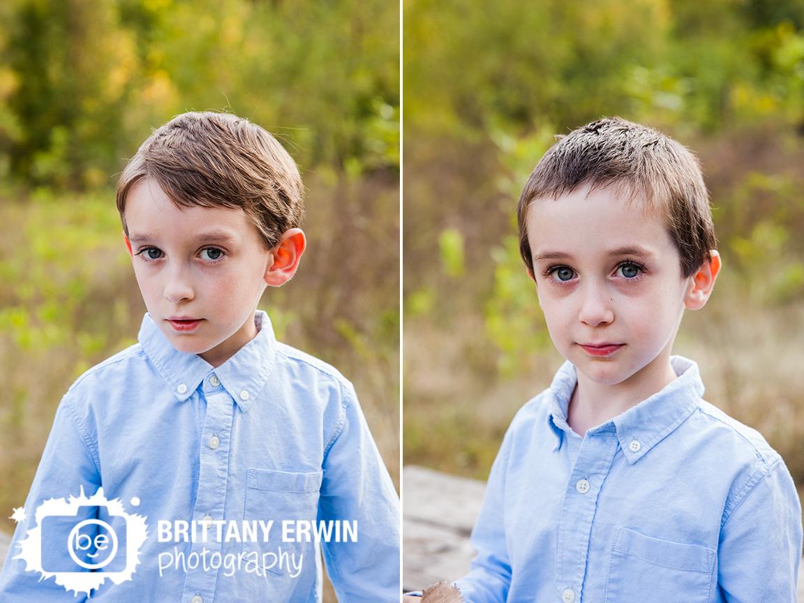 outdoor Zionsville school portrait photographer