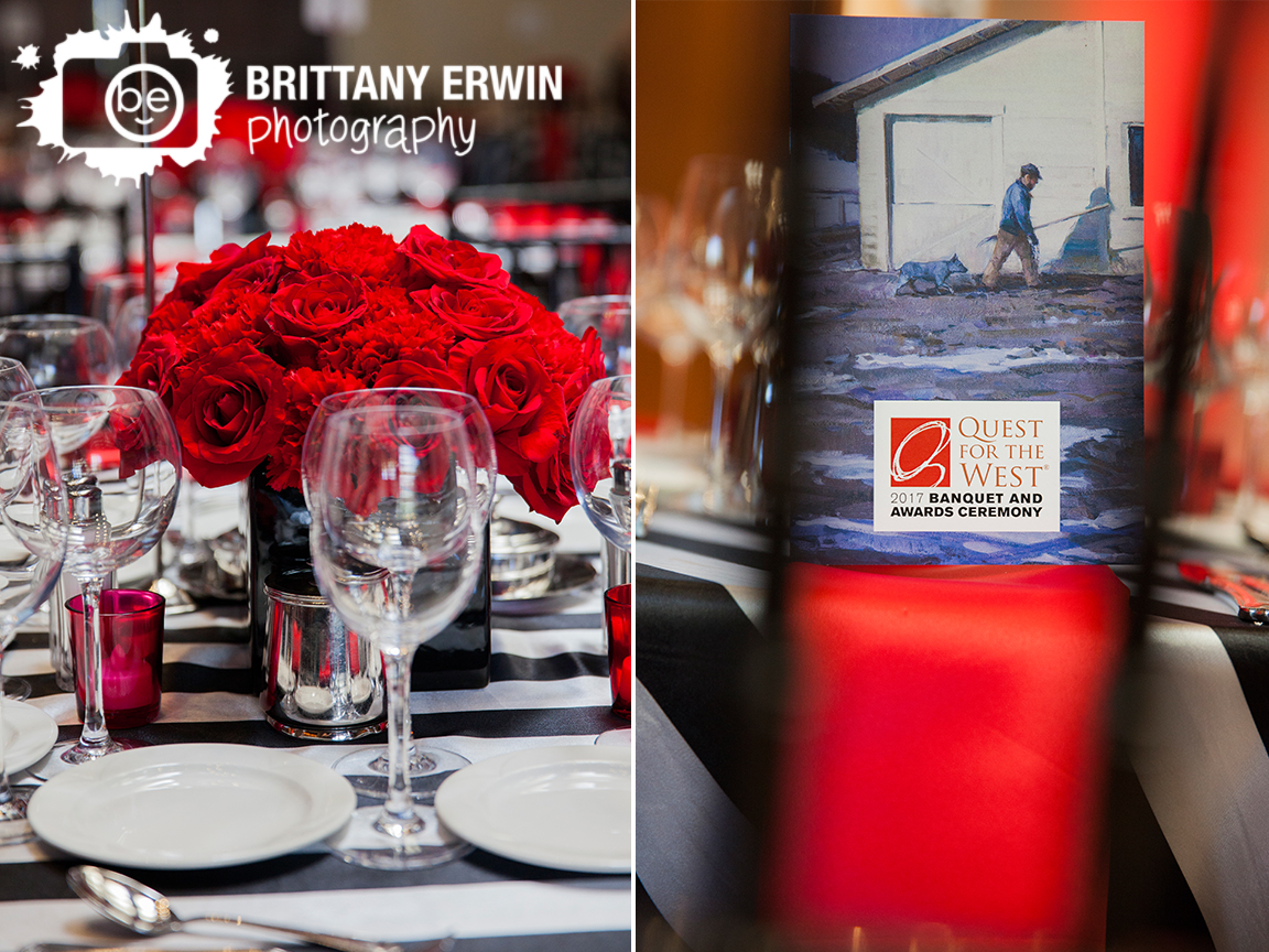 Indianapolis-event-photographer-wedding-venue-table-setting-quest-for-the-west-napkin-rose-centerpiece.jpg