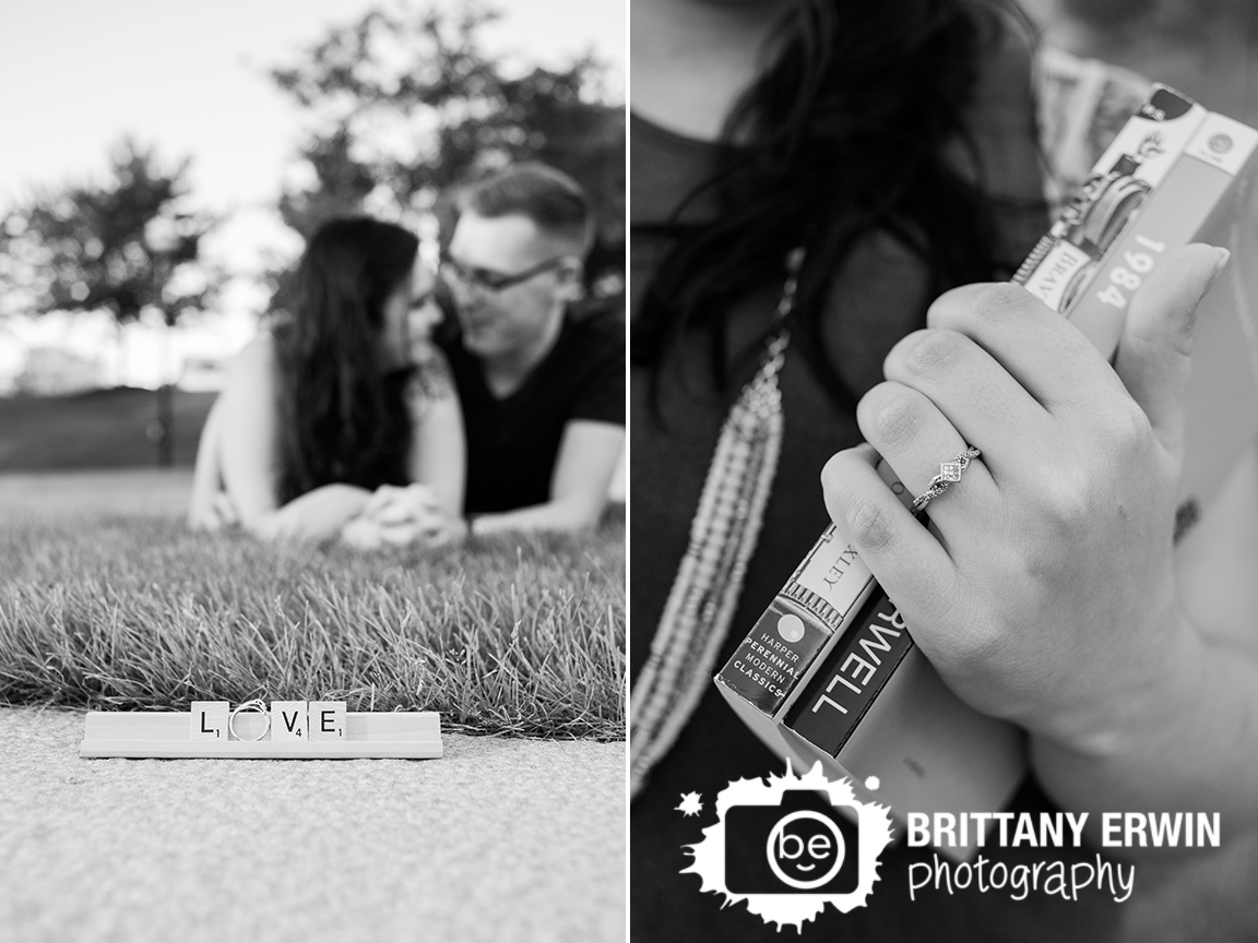 Indianapolis-engagement-photographer-ring-detail-downtown-scrabble-love-favorite-books.jpg