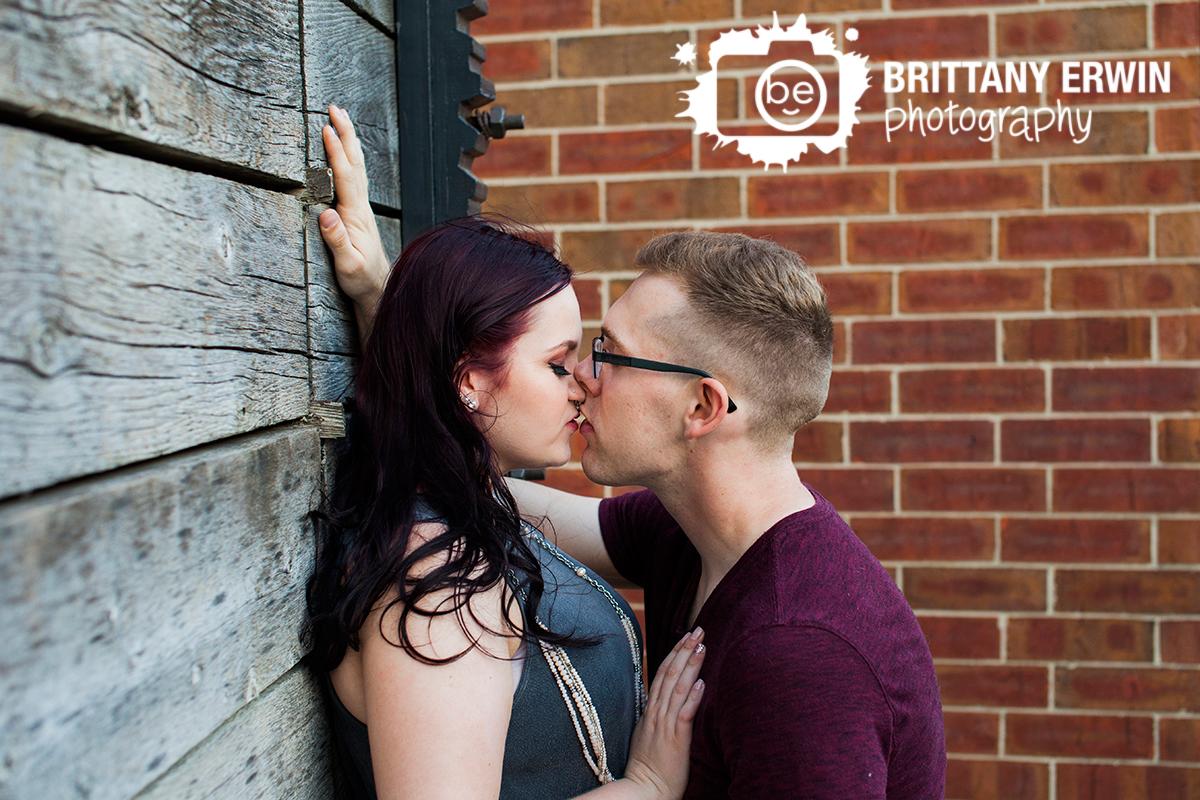 Romantic engagement portrait photographer