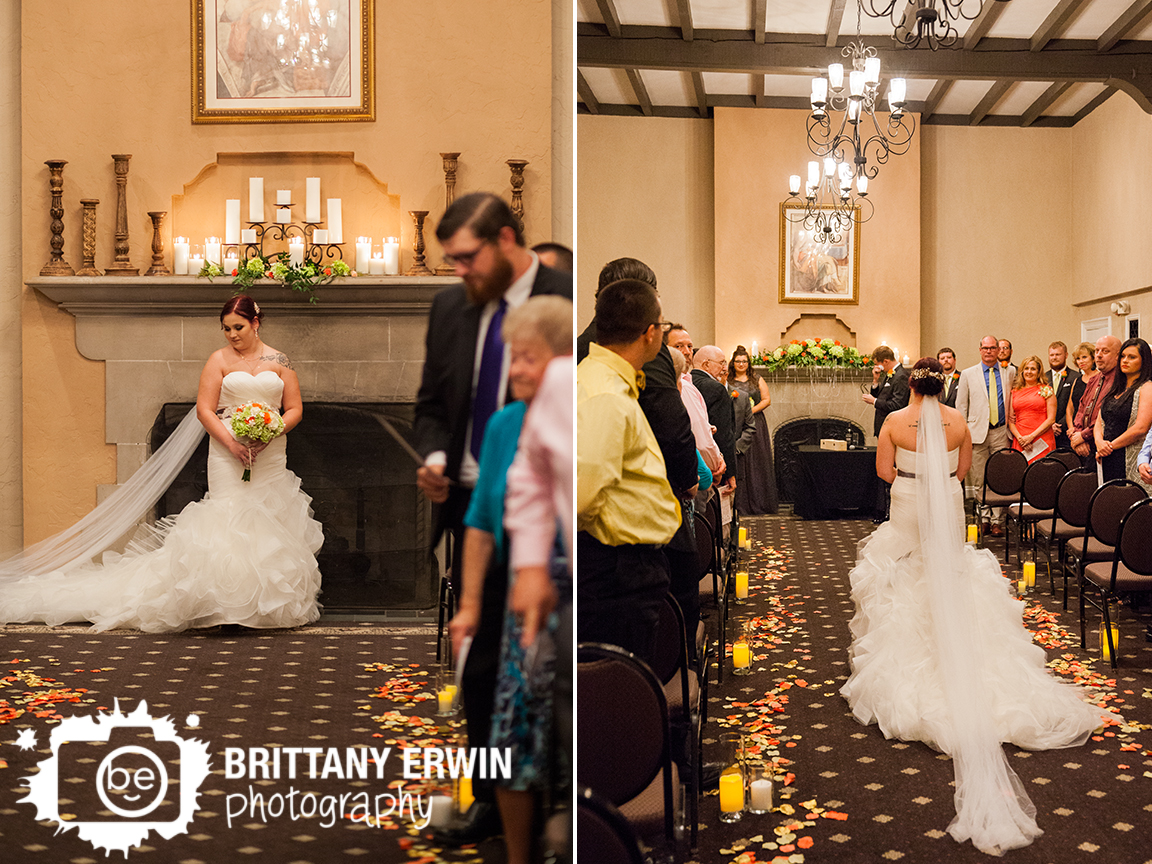 Indianapolis-wedding-ceremony-Hillcrest-Country-Club-bride-walking-down-the-aisle-groom-reaction.jpg