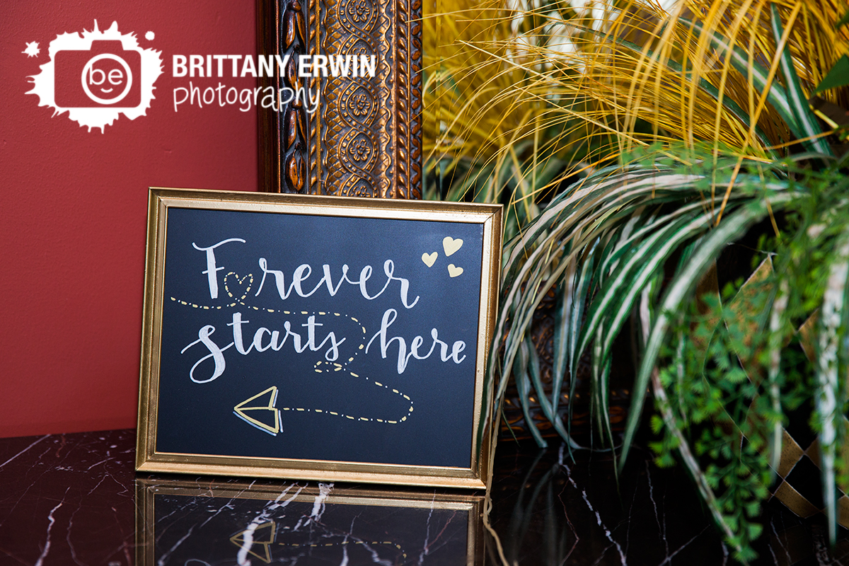 Indianapolis-wedding-photographer-Hillcrest-Country-Club-ceremony-sign-forever-starts-here.jpg
