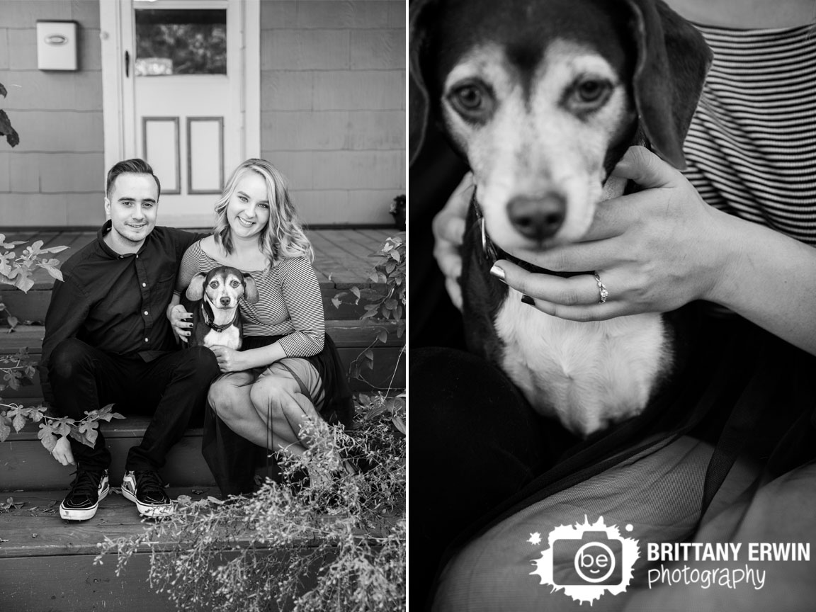Irvington-Indiana-at-home-engagement-portrait-session-dog-ring-detail-pet-Brittany-Erwin-PHotography.jpg