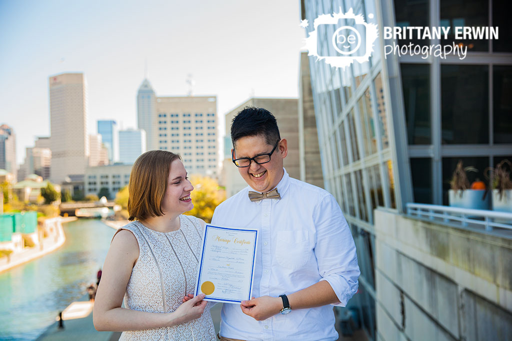 Downtown-Indianapolis-elopement-photographer-couple-marriage-certificate.jpg