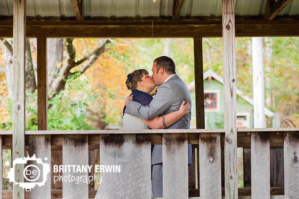 Couple-on-bridge-first-look-bride-groom-story-Inn-Nashville-Indiana-bridge-couple.jpg
