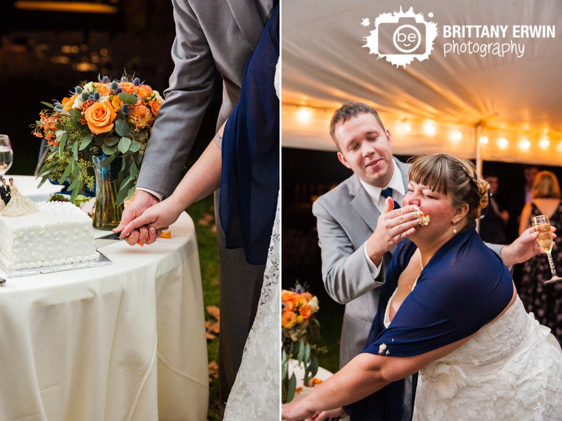 Story-Inn-Nashville-Indiana-wedding-photographer-cake-cutting-antique-topper-smash-face.jpg