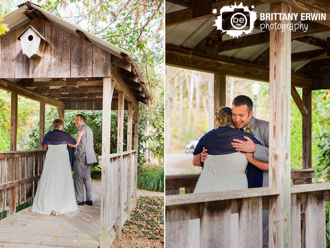 Story-Inn-wedding-photographer-bride-groom-first-look-covered-foot-bridge.jpg