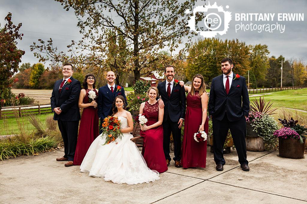 Noblesville-Indiana-wedding-bridal-party-photographer-group-fall-flowers-Purgatory-Golf-Club.jpg