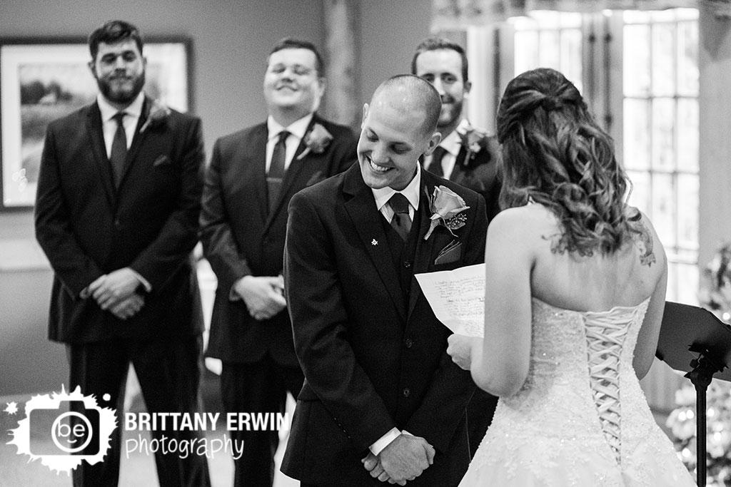 Purgatory-Golf-Club-wedding-ceremony-photographer-groom-reaction-bride-read-own-vows.jpg