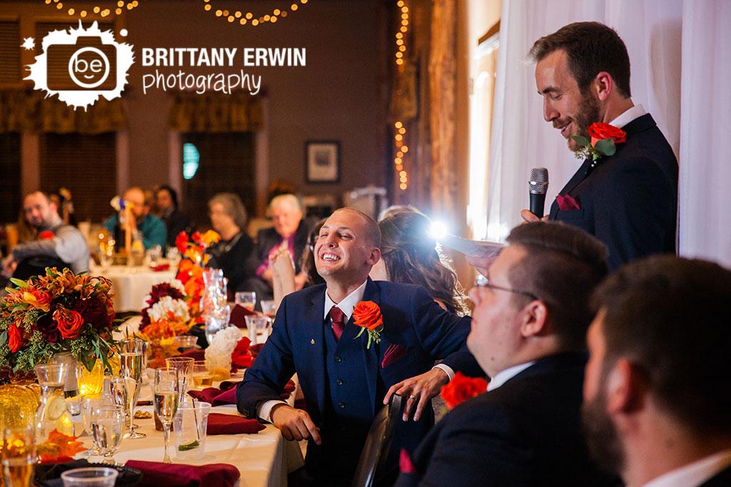 Purgatory-Golf-Club-wedding-reception-photographer-toast-best-man-groom-reaction.jpg