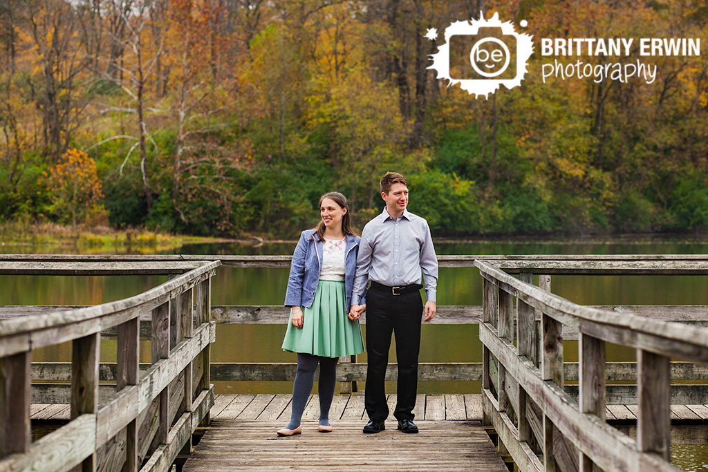 Fort-Harrison-state-park-engagement-portrait-photographer-couple-dock-on-lake.jpg