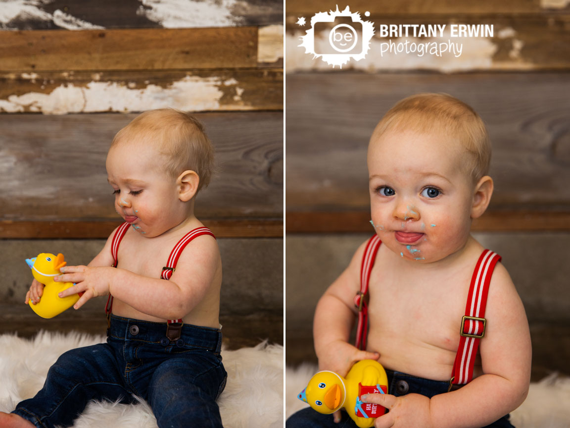 Indianapolis-studio-portrait-photographer-rubber-ducky-happy-birthday-icing-face.jpg
