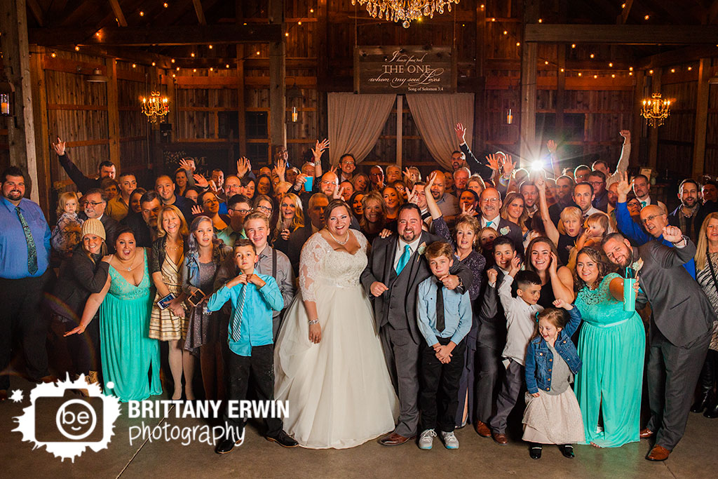 Barn-at-Kennedy-Farm-wedding-photographer-bride-groom-whole-group-photo-reception.jpg