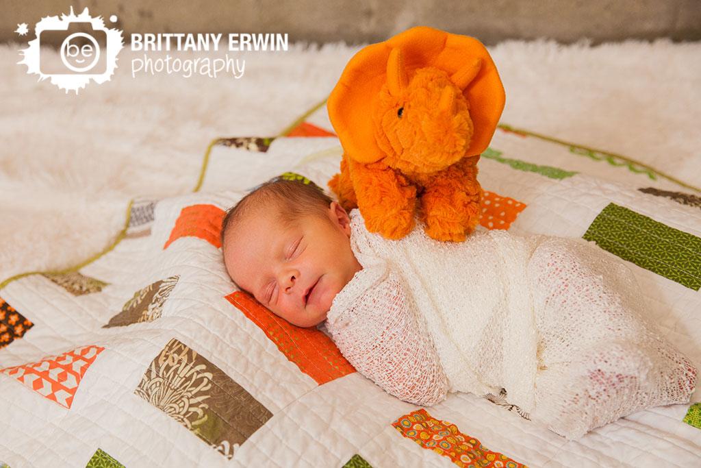 Speedway-Indiana-baby-boy-newborn-photographer-dinosaur-quilt.jpg