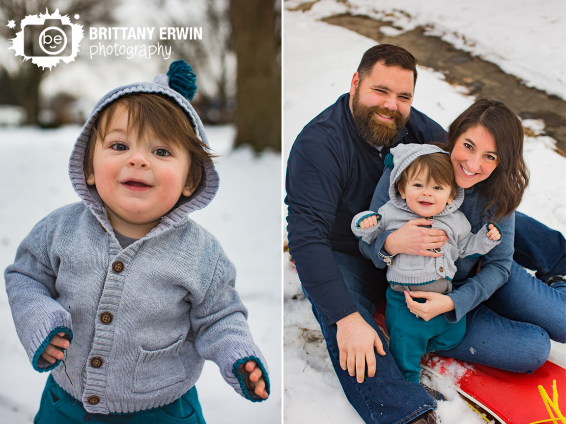 Speedway-Indiana-studio-portrait-photographer-outdoor-snow-toboggan-family-group-winter-baby-boy-sweater.jpg
