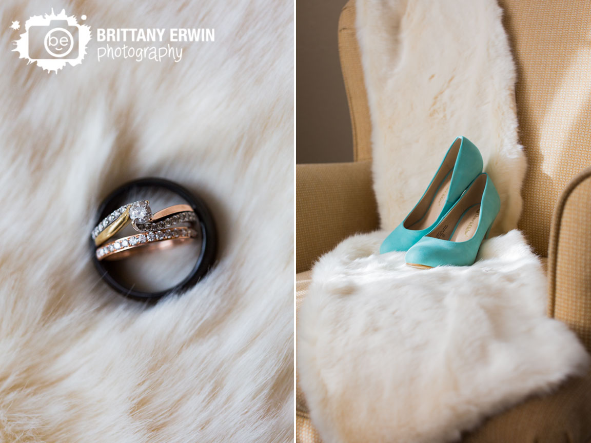 Indianapolis-winter-wedding-photographer-fur-shawl-engagement-ring-wedding-band-blue-shoes-detail.jpg