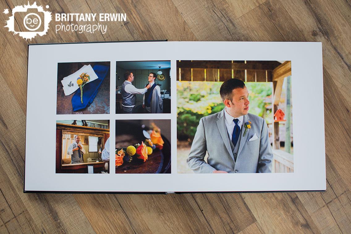 Story-Inn-groom-getting-ready-floral-collar-wedding-album.jpg