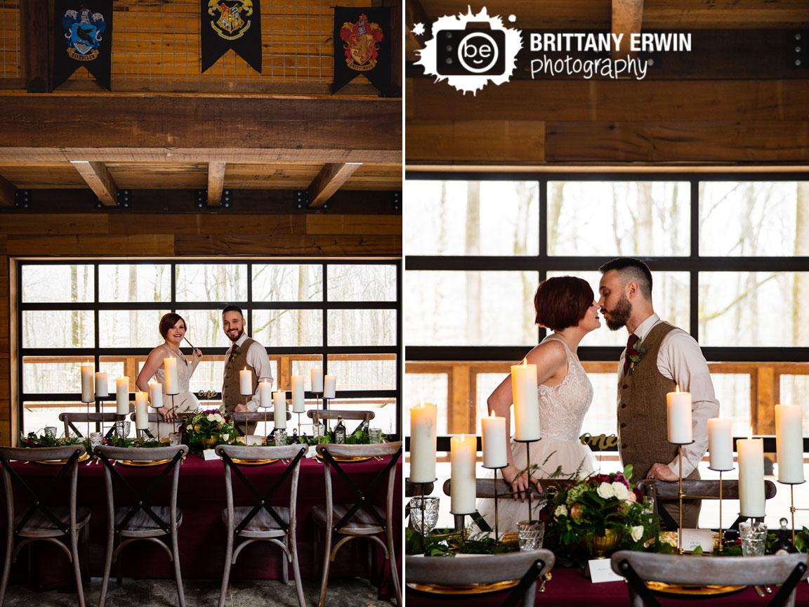 3-Fat-Labs-nerdy-fox-rentals-wedding-theme-shoot-Harry-Potter-Hogwarts-house-banners-candle-centerpiece-Geek-Chic.jpg