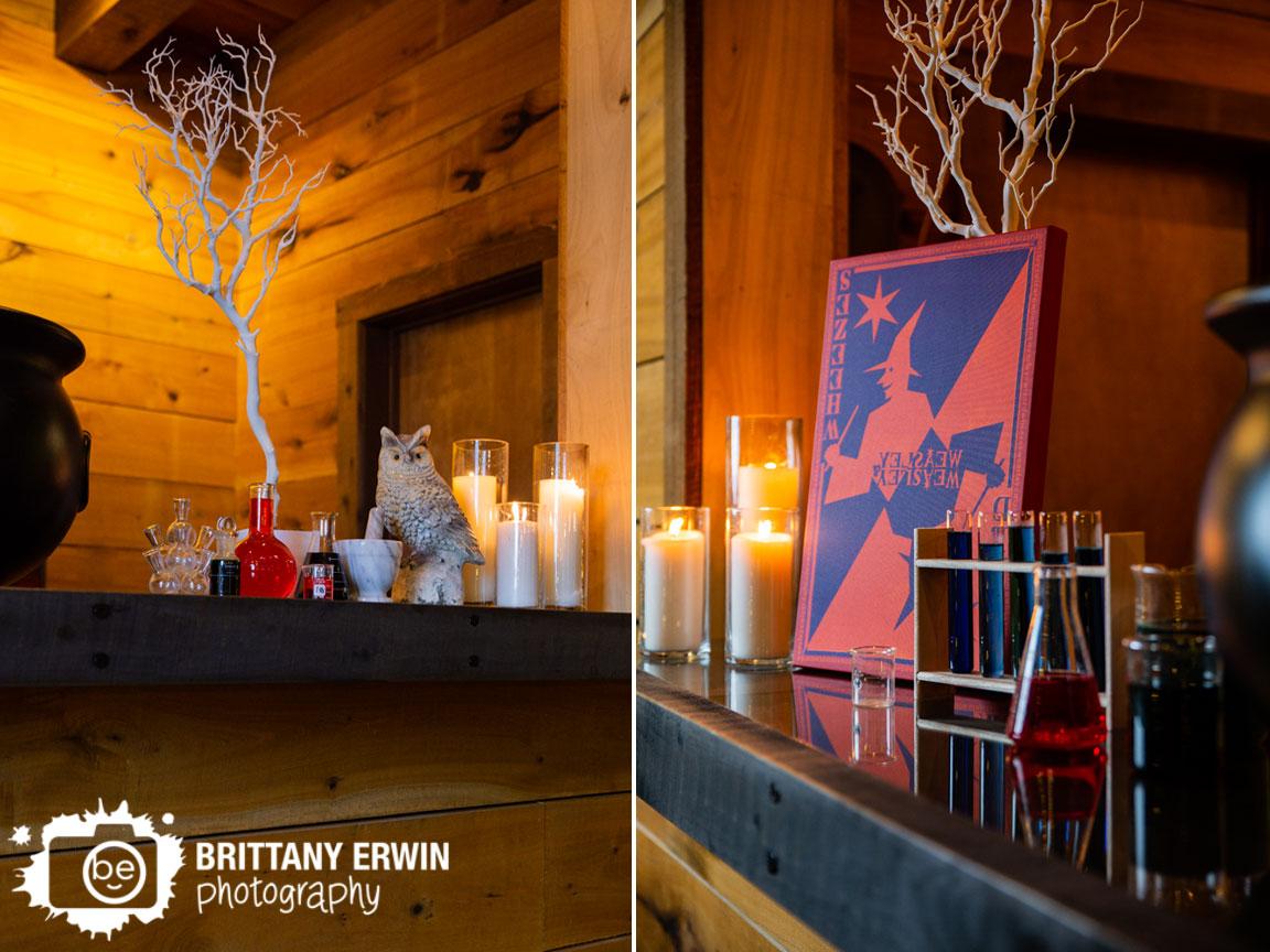 3-Fat-Labs-wedding-barn-venue-bar-weasley-chemistry-jars-Nerdy-Fox-Rentals-Blue-Llama-Events.jpg