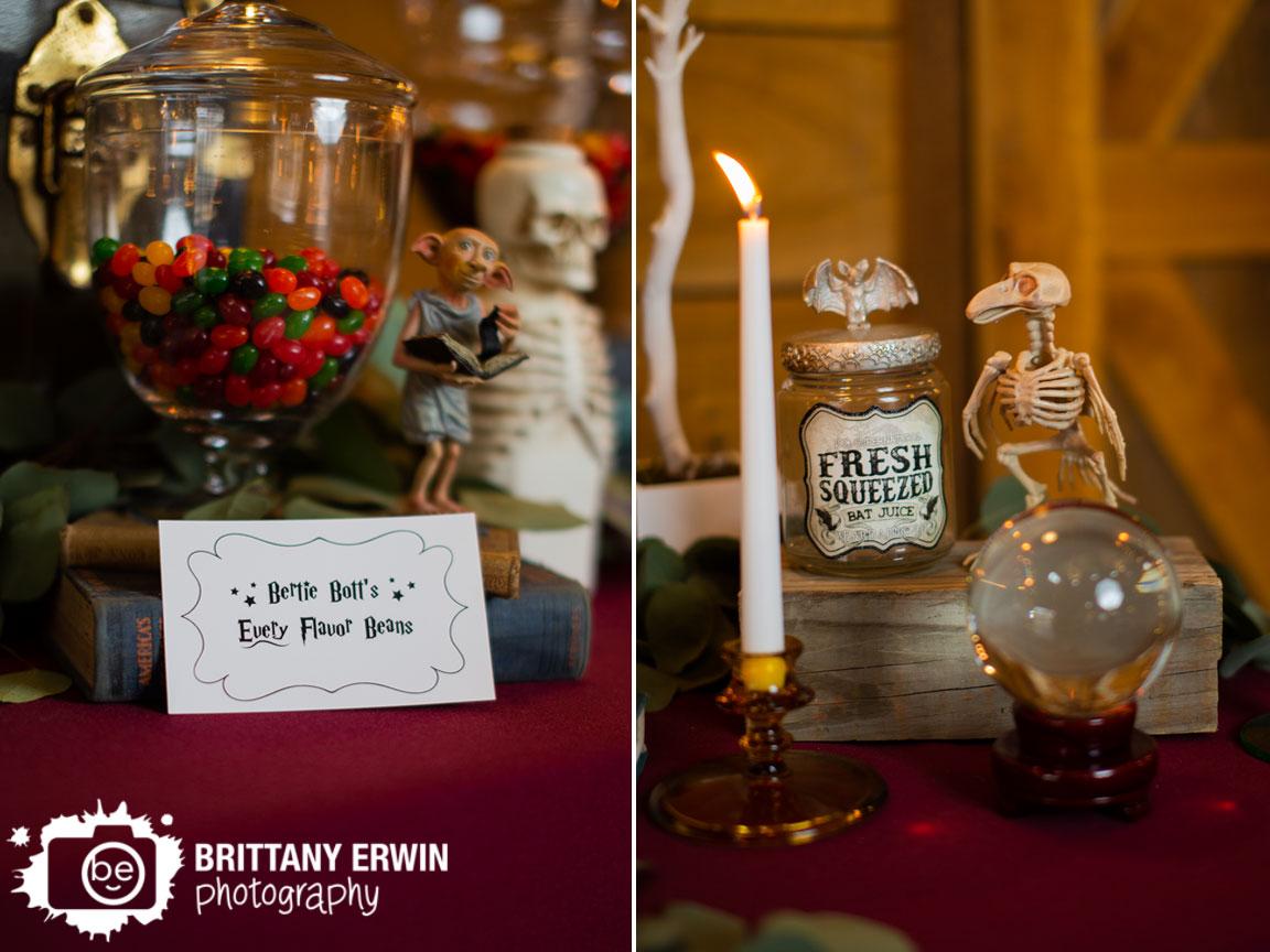 3-Fat-Labs-wedding-venue-bertie-botts-every-flavor-beans-jelly-bean-jar-dobby-bats-bottles.jpg