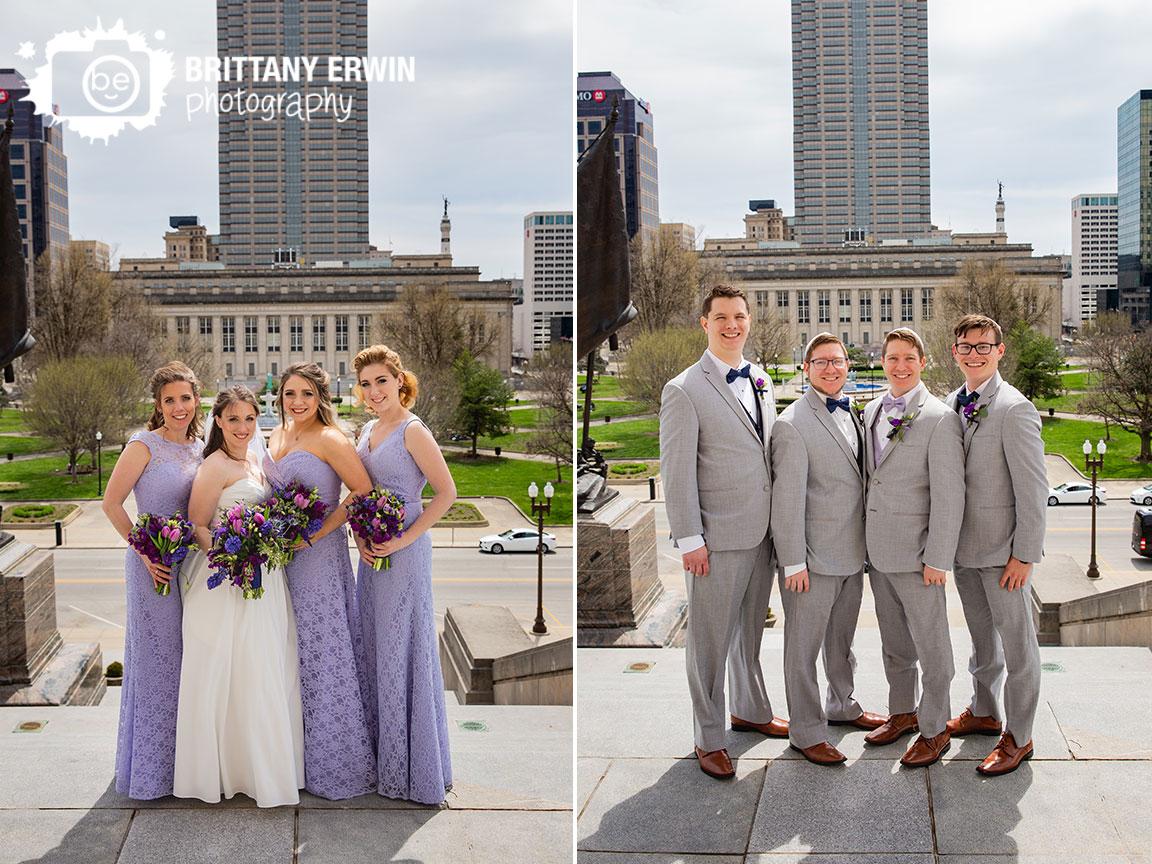 Downtown-Indianapolis-sklyine-portrait-bridal-party-groomsmen-bridesmaids-war-memorial.jpg