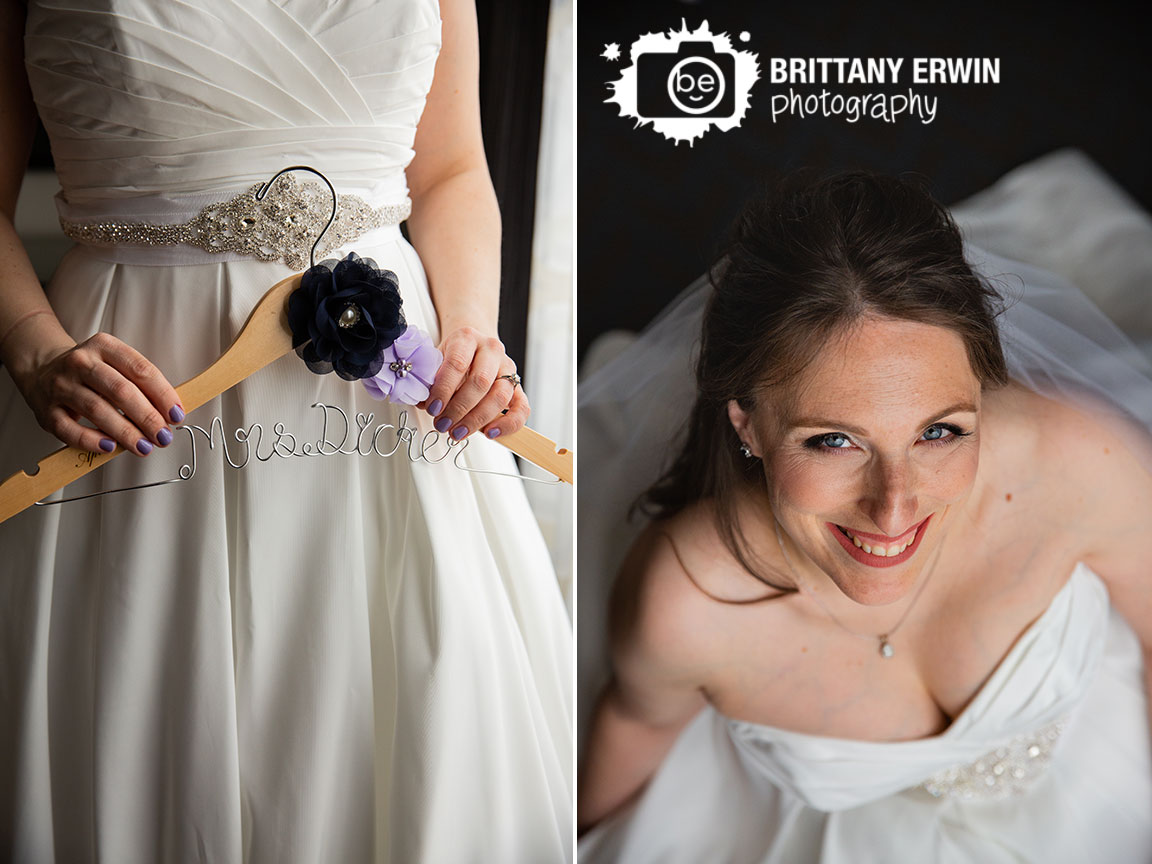 Downtown-Indianapolis-wedding-photographer-bride-custom-hanger-portrait-in-dress.jpg