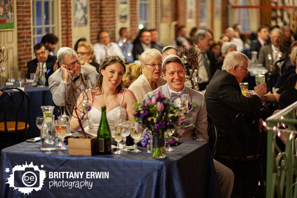 Downtown-Indianapolis-wedding-reception-jewish-toast-city-market-bride-groom-reaction.jpg
