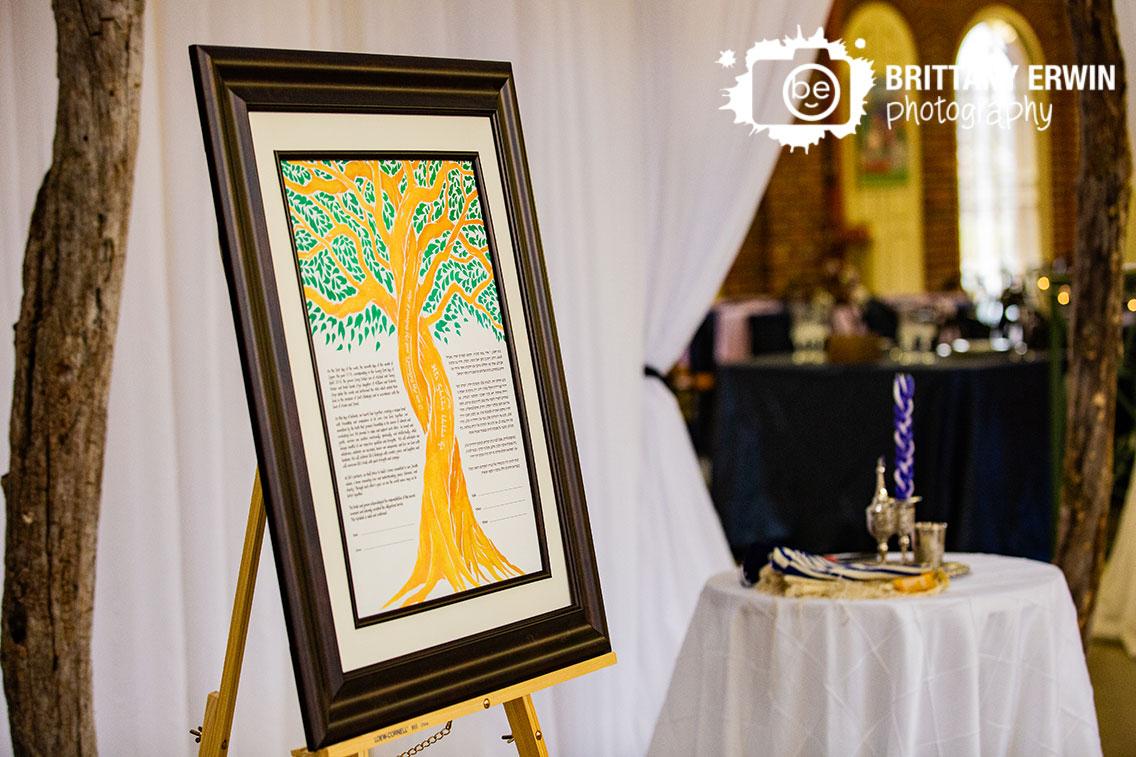 Indianapolis-city-market-jewish-wedding-ceremony-photographer-altar-with-ketuba-hand-painted.jpg