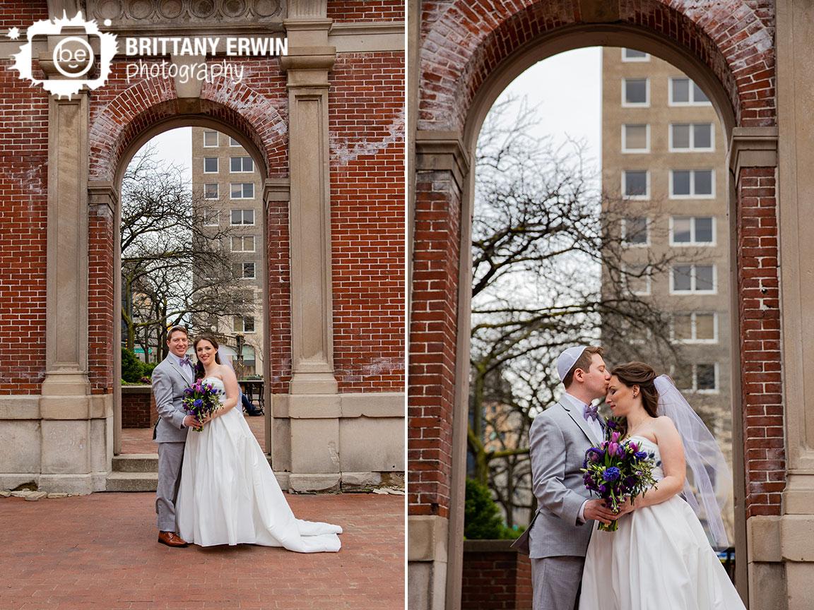 Indianapolis-city-market-wedding-photographer-couple-arch-forehead-kiss.jpg